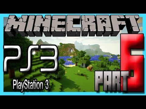Minecraft Ps3 Edition Multiplayer Gameplay Part 6 - THIS NETHER IS SO WEIRD!