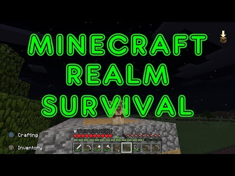 Minecraft Xbox One X Realm Survival Live Another Woodland Mansion Quest