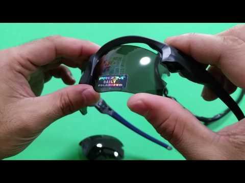 Oakley Flak Draft Lens Change Standard vs Asia Fit