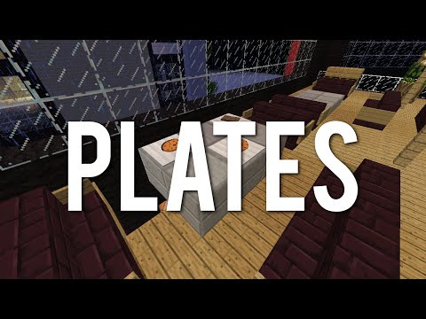 Plates In Minecraft! They hold food!