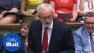 Jeremy Corbyn tells government to
