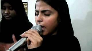 noha 2011  16 th muharram amber zehra