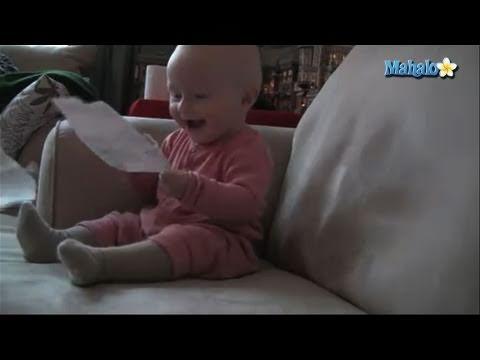 Micah McArthur Laughing Baby Video