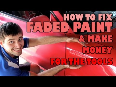 How to fix faded paint & Raise Money for the Tools
