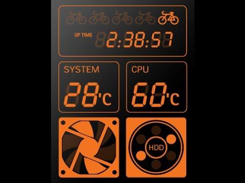 how to show cpu temperature monitor windows pc