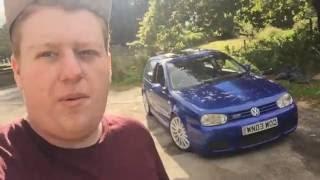 2003 Volkswagen Golf R32 Review!