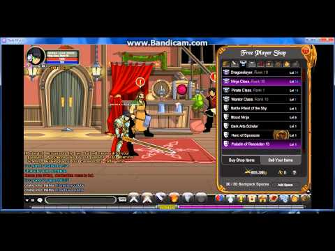 AQW How to get the Blinding Light Of Destiny with Dark Mystic
