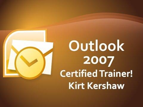 Outlook 2007 Sharing: Set Folder Permissions Levels