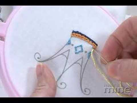 Make It Mine Magazine - Embroidery Running Stitch