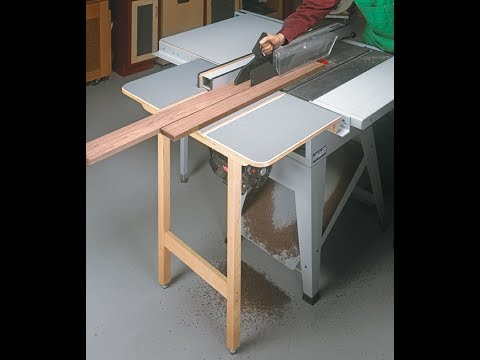 Project Build: Table Saw Outfeed Table - Part 1