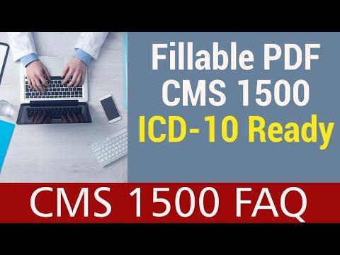 CMS 1500 PDF - ICD-10 Ready. HIPAA Compliant.