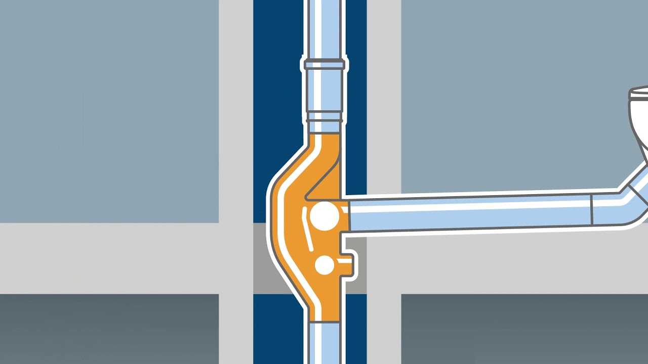 Geberit SuperTube – a flow-optimised drainage system for high-rise buildings