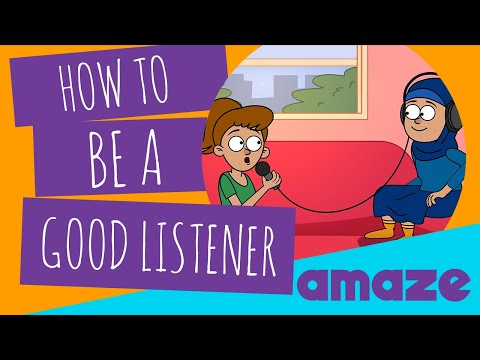 How to Be a Good Listener