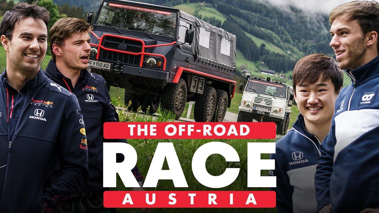 Red Bull Racing Honda Vs Scuderia AlphaTauri: Epic Off-Road Race Across Austria   Schnitzeljagd