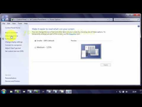 Windows 7 Tips : How to Change Put the computer to sleep Time