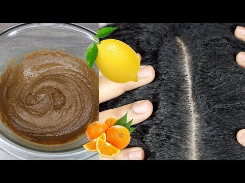 🍋🍊Get Rid of Dandruff with Lemons and Oranges!  Natural Hair Products