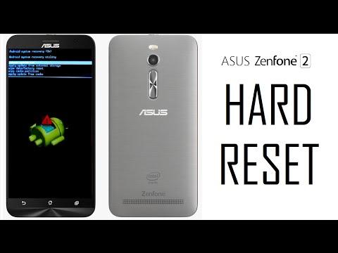 Hard Reset ASUS Zenfone 2 Formatando