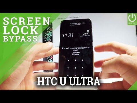 HTC U Ultra HARD RESET / BYPASS SCREEN LOCK