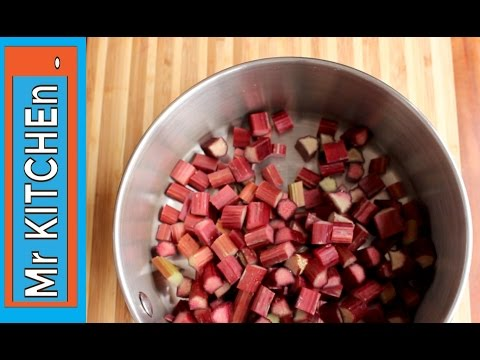 HOW TO STEW RHUBARB - a simple recipe