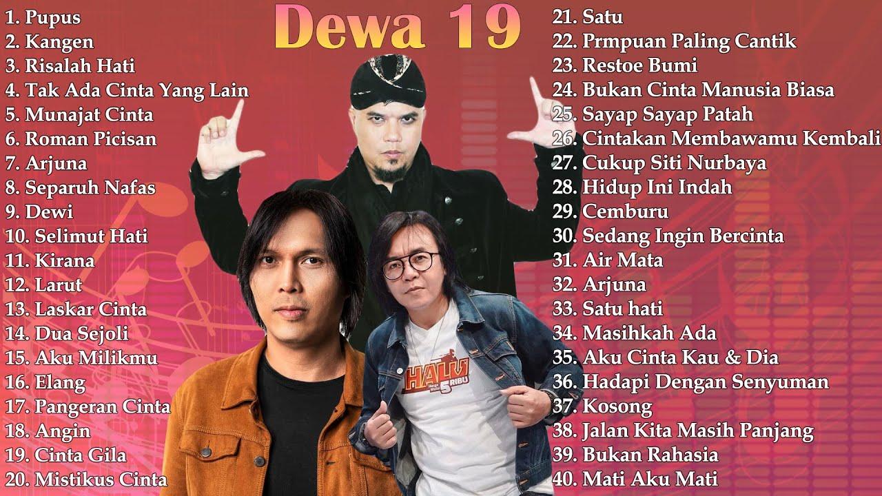 Download 40 Lagu Terbaik DEWA 19 [ FULL ALBUM ] - Lagu Pop Indonesia Terbaik & Terpopuler Tahun 2000an MP3 Gratis