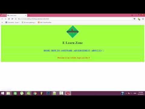Create your own website in HTML using notepad | Basics of HTML in hindi