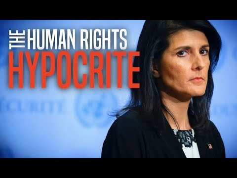Nikki Haley Confronted Over Israel's Treatment of Peaceful Palestinian Protesters