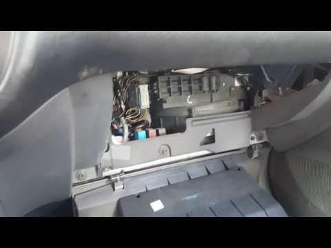 2002 Honda civic Cabin filter replacement