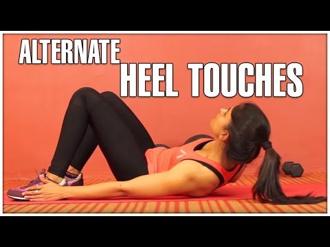 Alternate HEEL TOUCHES For Women | How To