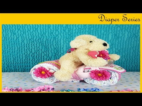 Tricycle Diaper Gift #3 (BABY SHOWER DIY SERIES)