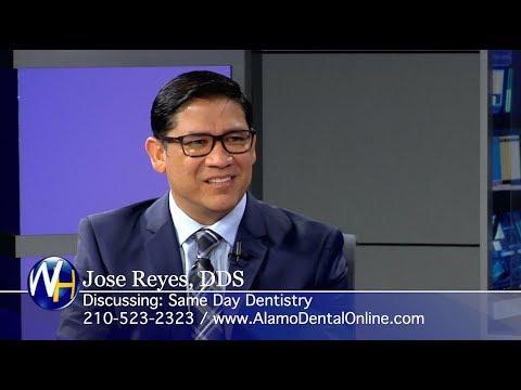 Same Day Dentistry & Dental Implants with San Antonio, TX dentist Dr. Jose Reyes