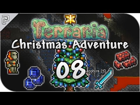 Terraria 1.3.4 | Final Ice Chest! Santa Goes To Hell! | Christmas Playthrough [Episode 8]