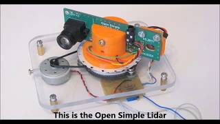 Open Simple Lidar: Making map of the rooms