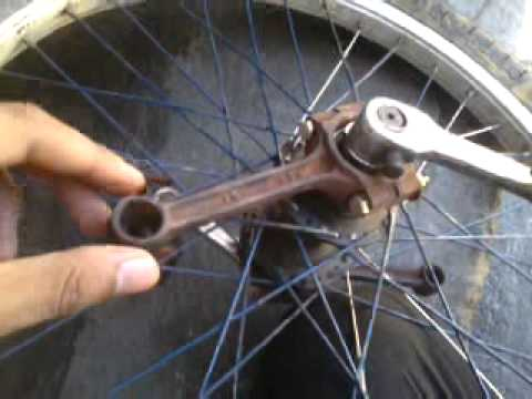 home made freewheel pedal for drift trike pinoy style.