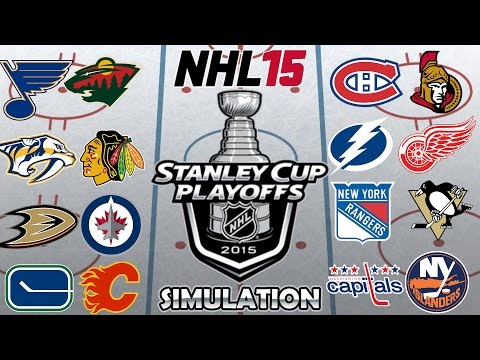 NHL 15 Stanley Cup Playoffs Simulation [PS4]