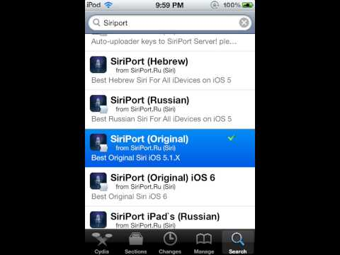 How to Install Siri on iPod Touch 4G