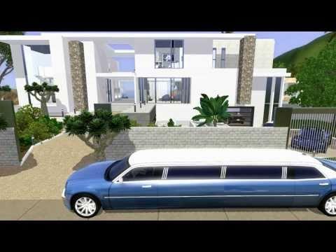 SIMS 3: Celebrity Beach House (Modern Design)