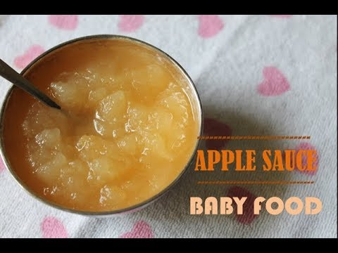 Apple Sauce for Babies - Baby Food Recipes