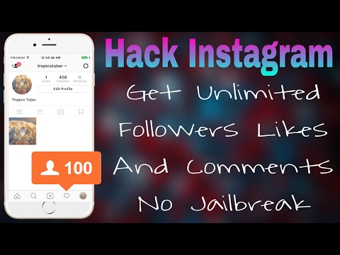 How To Hack Instagram Followers Get Unlimited Likes And Followers Free