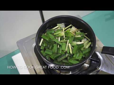 Thai Detox Tea - Lemongrass & Pandan