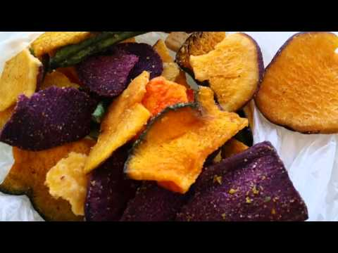 Vacuum Fried Vegetable Chips Nutrition (from Vietnam)