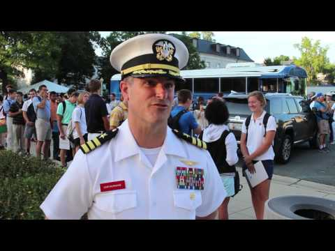 Induction Day just the beginning for plebes at Naval Academy