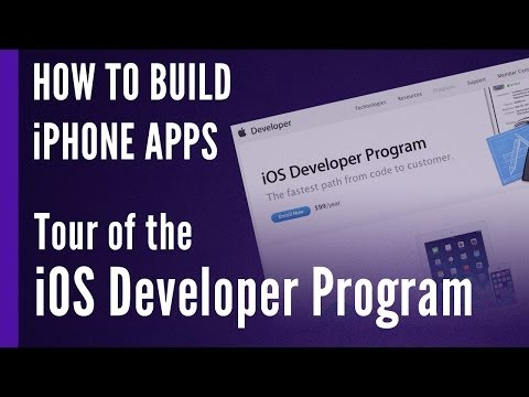 Tour of the Apple iOS Developer Program
