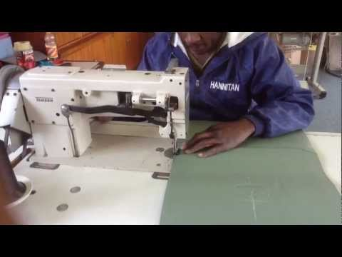 Manufacturing leather bags