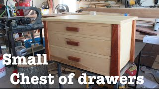 Small chest of drawers // How-To