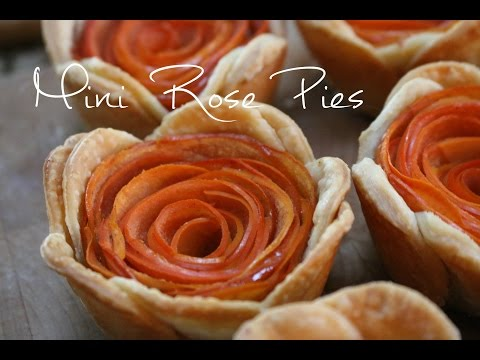 How to Make Mini Rose Pies | rachel republic