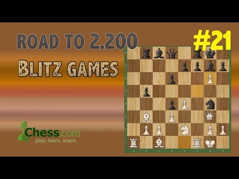 Road to 2200 Blitz Rating in Chess.com | #21