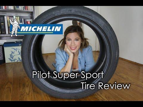 MICHELIN PILOT SUPER SPORT TIRE REVIEW!