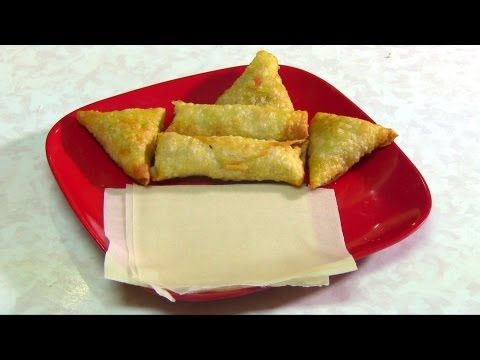 Homemade Pastry for Spring Rolls and Samosas - Video Recipe