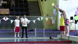 Micks Big Swim || EastEnders || 5th August 2014