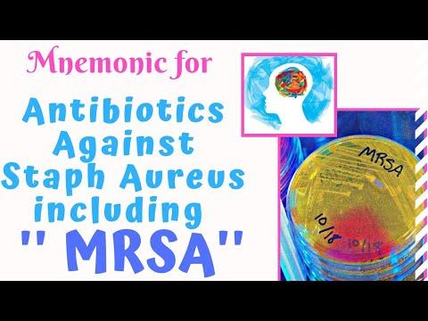 Antibiotics to treat Staph Aureus Mnemonic.